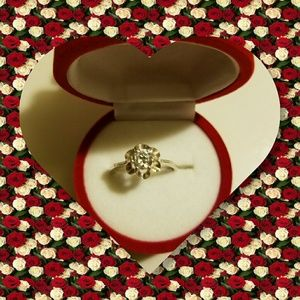 Vintage Avon Sterling Silver Ring